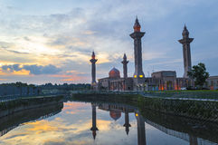 Reflection of Mosque Stock Photography