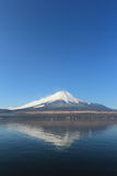 Reflection mount Fuji, Japan Stock Image
