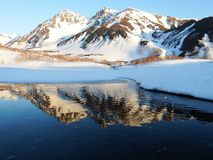 Reflection, Mountainous Landforms, Mountain, Wilderness Royalty Free Stock Photo