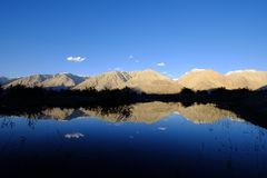 Reflection of mountains Royalty Free Stock Photography