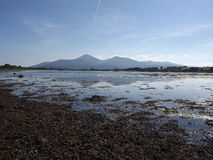 Reflection of the Mourne Mountains Royalty Free Stock Photography