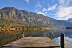 Reflection, Nature, Mountainous Landforms, Mountain royalty free stock image