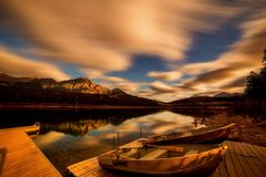 Reflection, Nature, Sky, Loch Royalty Free Stock Photos