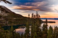 Reflection, Nature, Sky, Wilderness stock photography