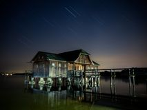 Reflection, Night, Sky, Water Royalty Free Stock Images