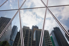 Free Reflection Of City Office Building And Sky Background Stock Image - 83746341
