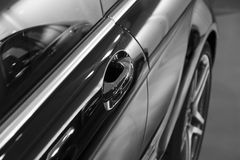 Reflection On Car Royalty Free Stock Images