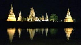 Reflection pagoda Stock Images