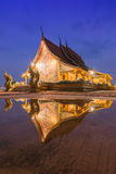 Reflection of temple Stock Photos