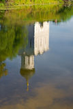 Reflection in the pond Royalty Free Stock Photography