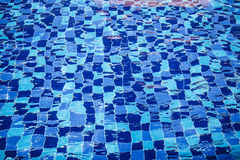Reflection in the pool. Royalty Free Stock Images