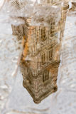 Reflection in puddle Il Duomo, Florence Stock Images