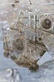 Reflection in puddle Il Duomo, Florence Royalty Free Stock Photos