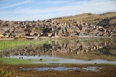 Reflection of Puno Royalty Free Stock Image