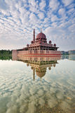Reflection of Putra Mosque in Putrajaya Malaysia Stock Photography