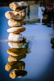 Reflection of Rocks Royalty Free Stock Photography