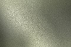 Reflection on rough gray metallic wall surfaces, abstract texture background.  stock photography
