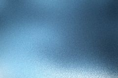 Reflection on rough light blue metallic wall surfaces, abstract texture background.  stock photos