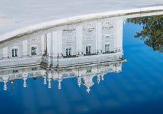 Reflection of Royal Palace Royalty Free Stock Photo