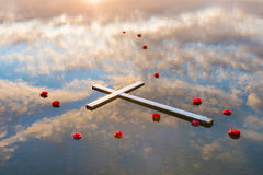Reflection of Salvation Royalty Free Stock Image