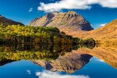 Reflection of Scottish Mountain royalty free stock image