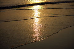 Reflection in the sea water Royalty Free Stock Photos
