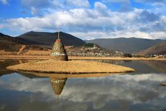Reflection in shangri_la Royalty Free Stock Photos