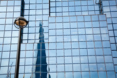 Reflection of The Shard London Royalty Free Stock Photo