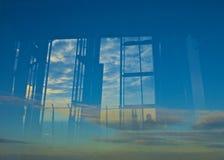 Reflection shard London Royalty Free Stock Photos