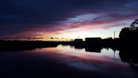 Reflection, Sky, Water, Waterway royalty free stock photography