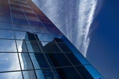 Reflection of skyscraper Royalty Free Stock Photos