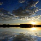 Reflection of Sunset Royalty Free Stock Image