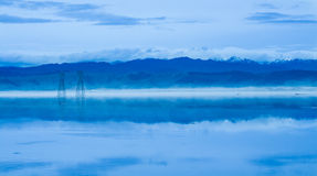 Reflection Tararua Rangers Royalty Free Stock Images