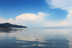 Reflection from the Thassos Stock Photography