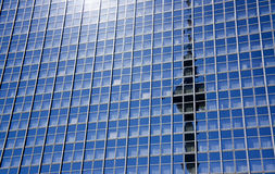 Reflection of theTV tower Royalty Free Stock Photography