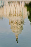 Reflection of US Capitol building, Washington DC Royalty Free Stock Photo