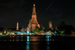 Reflection of Wat Arun Royalty Free Stock Photos