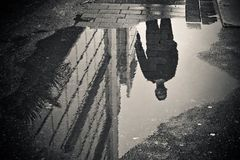 Reflection, Water, Black, Photograph Stock Image