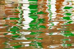 Reflection in water Stock Image