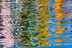 Reflection in water Stock Photography