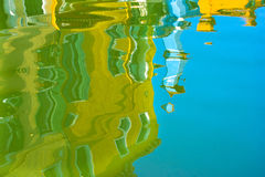 Reflection in water Royalty Free Stock Images