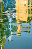 Reflection in water Royalty Free Stock Photos