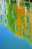 Reflection in water Stock Images