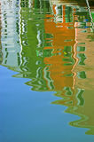 Reflection in water Stock Photo