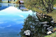 Reflection, Water, Nature, Body Of Water stock photos