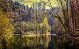 Reflection, Water, Nature, Body Of Water royalty free stock photo