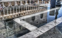 Reflection in water Royalty Free Stock Image