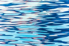 Reflection in water ripples Stock Image