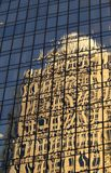 Reflections. A reflection of a building in another buildings windows royalty free stock photo