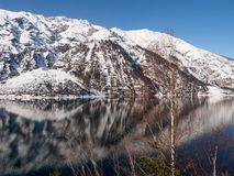 Reflections is Achensee Royalty Free Stock Photos